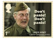 Great Britain Stamp - June 2018 - Dad's Army stamps celebrate classic British sitcom British Sitcoms, British Comedy, Comedy Clips, Comedy Tv, Quotes Girlfriend, Dad's Army, Dads, Classic Comedies, The Best Films
