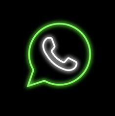 Neon Light Wallpaper, Whatsapp Logo, Apple Logo Wallpaper Iphone, Apple Icon, Iphone Background Images, Neon Logo, Iphone App Design, Ios App Icon, App Icon Design