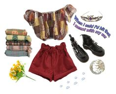 """vanilla + other things"" by ode-to-sleeep ❤ liked on Polyvore featuring Dr. Martens and vintage"