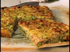 Pastel de calabacín y atún, receta fácil, rica y rápida - YouTube Quiches, Pie Recipes, Healthy Recipes, Empanadas, Sweet Pie, Burritos, Cooking Time, Gluten Free, Breakfast
