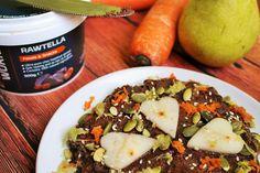 Make-Life-Green: Jesienne cynamonowe racuchy z gruszką i marchewką (bez jajek, masła, mleka, cukru i glutenu, wegańskie)