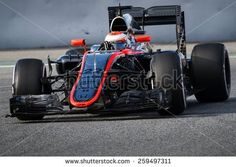 BARCELONA - FEBRUARY 26: Jenson Button of McLaren Honda F1 team at Formula One Test Days at Catalunya circuit on February 26, 2015 in Barcelona, Spain.
