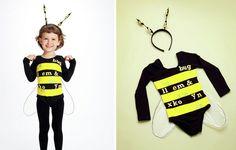 süße Kleinkinder Kostüme-Bastelideen
