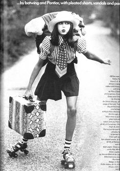 seventies vogue.  so awesome.