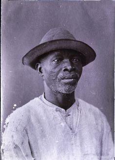 nigerianostalgia:  A freed Yoruba slave from Bahia, Brazil. 1800s.