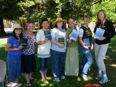 Who said the park is limited to children? These sweet moms are from a homeschool group who decided to complete The Sacred Echo study. For six weeks, their children played in the park while they enjoyed discussing the book and questions.