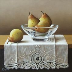 The Still Life Artwork Of Anne Songhurst Still Life 2, Still Life Fruit, Still Life Artists, Realistic Paintings, Oil Paintings, Types Of Fruit, Still Life Oil Painting, Fruit Painting, Beginner Painting