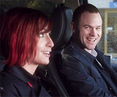 Claudia and Steve - Even though it would never work out, it's my OTP...