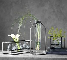 Irving Architectural Vases #potterybarn