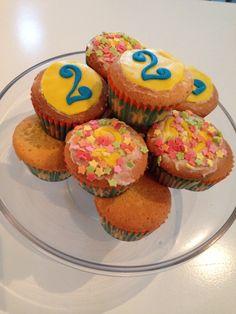 2 jaar cupcake