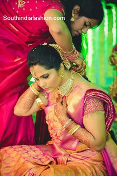 real south indian bride