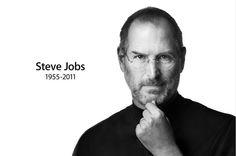 Steve Jobs - Brilliant man.  What an inspiration.