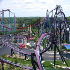 Batman at Six Flags New England. been there done that no need to go back