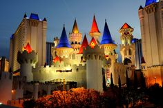 Excalibur, Las Vegas, Nevada. My first time to Vegas we stayed here!