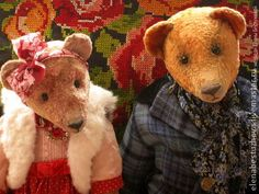 Vintage teddies by Elena Bestuzheva