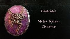 DIY Resin Photo Charms - How to make charming Little Windows - YouTube