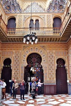 Patio Árabe en el Casino de Murcia Andalusia Spain, Moorish, Spain Travel, Granada, Where To Go, The Good Place, Madrid, Portugal, Barcelona