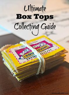 Ultimate Box Tops Collecting Guide with answers to all your questions! These Box Tops for Education ideas will help you make the most of the program. Plus an awesome Bonus @BTFE offer at @SamsClub! #SamsClubBoxTops ad