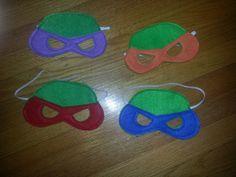 Hey, I found this really awesome Etsy listing at http://www.etsy.com/listing/156396185/4-tmnt-masks-ninja-turtle-masks-tmnt