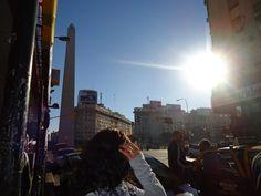 El Obelisco, Avenida Corrientes - Buenos Aires!