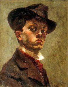 Raoul Dufy — Self Portrait, Raoul DufyMedium: oil,canvas Raoul Dufy, Henri Matisse, Art Fauvisme, L'art Du Portrait, Oil Canvas, Georges Braque, Post Impressionism, Art Moderne, Fine Art