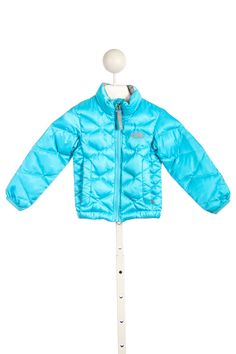 THE NORTH FACE TURQUOISE PUFFY JACKET