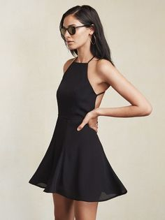 We never need a reason to go backless, and frankly neither should you. The Dove Dress. https://www.thereformation.com/products/dove-dress-black?utm_source=pinterest&utm_medium=organic&utm_campaign=PinterestOwnedPins
