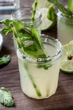 Ginger Mint Margaritas
