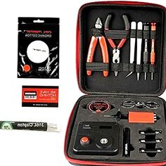 Shop Coil Master DIY Kit V3 100% Authentic Tool Set with 521 Tab Mini ohm reader / Tweezers / NEWEST Tool Kit / Latest Coil Jig / Organic Cotton Portable Coil Winding Set. Make perfect micro coils in diameters of 1.5mm, 2.0mm, 2.5mm, 3.0mm. Cotton Bacon Version 2 By Wick  N  Vape Double Pack 20 pieces. Demon Killer 48 Pre-made Coils Selection of 8 Styles Clapton, 6 of Each. Wick  N  Vape V2 Cotton Bacon Version, 10-Piece £3.19(£0.32 / each) Add-on Item. Coil Master 100% Authentic DIY KIT V3…