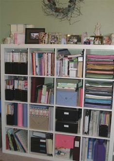 #scrapbooking #storage