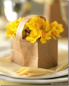 Sweet Little Paper Bag for Easter