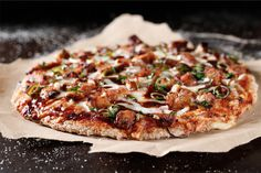 BBQ Tempeh Pizza, a recipe on Food52 http://food52.com/recipes/30666-bbq-tempeh-pizza
