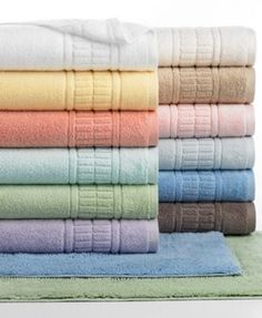 Martha Stewart Collection, Plush Bath Towel Collection, Only at Macy's