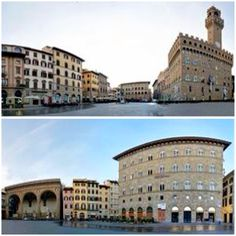 Piazza (Plaza) Della Signoria - This is the political hub of the city. It is the meeting place of Florentines as well as the numerous tourists, located near Ponte Vecchio and Piazza del Duomo and gateway to Uffizi Gallery.