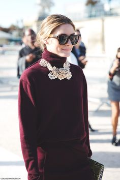 SAY CHEESE: OLIVIA PALERMO   Collage Vintage