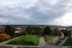 View from the Petersberg in Erfurt