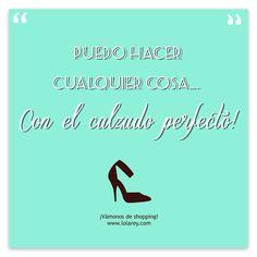 Un #Lunes con una combinación de excelente actitud y los #zapatos perfectos. Encuentra los tuyos en www.lolarey.com y ¡a por la semana!