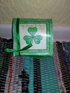 Handmade Irish shamrock/ clover Irish Tooth fairy by HazelGaze