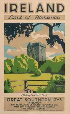 20th century ireland travel poster - Google Search