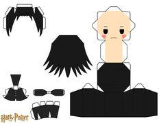 Severus Snape Chibi Doll Paper craft
