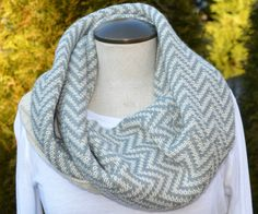 Chevron Print Scarf from Lundy's Boutique