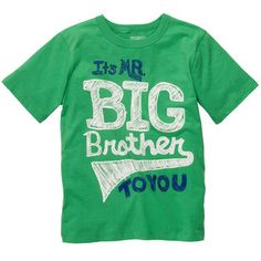 Short-Sleeve OshKosh Original Graphic Tee.....I love this shirt...I would buy this for my son.