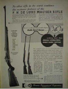 Winfield Arms Corp Pistols Shotguns Rifles (1956)