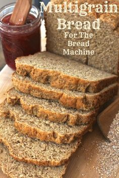 Business Cookware Ought To Be Sturdy And Sensible This Multigrain Bread Is Super Easy, Thanks To The Addition Of Premixed, Cereal Hearty And Chewy, This Bread Machine Recipe Will Become Your Go-To For Sandwiches Brittany's Pantry Multigrain Bread Machine Recipe, Bread Machine Recipes Healthy, Bread Maker Recipes, Sandwich Bread Recipes, Easy Bread Recipes, Yeast Bread, 7 Grain Bread Recipe, Whole Grain Breadmaker Recipe, Recipe For Healthy Bread