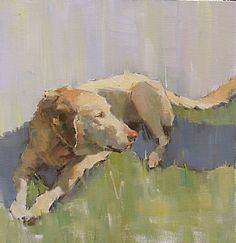 Basking by Nancy Franke Oil ~ 24 x 24