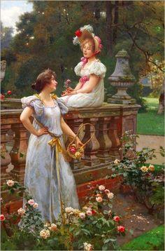 Wilhelm Menzler #Art #Paintings