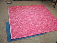 """Pieces by Polly: Single Layer No-Sew """"Braided"""" Fleece Blankets Tutorial - knotted blankets Braided Fleece Blanket Tutorial, Fleece Blanket Edging, Fleece Tie Blankets, No Sew Blankets, Fleece Throw, Fleece Projects, Sewing Projects, Sewing Ideas, Minnie Mouse Blanket"""