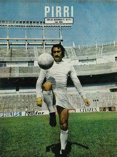 70 - Pirri (Real Madrid Club de Fútbol).