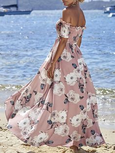 0696d75daedf47 Floral Off-the-shoulder Bohemia Dresses – chicboho Wedge Sneaker, Sommer -mädchen