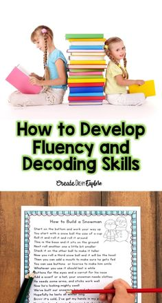 how to develop fluency and decoding skills with poetry and shared reading! Use a poem of the week strategy! Reading Resources, Reading Activities, Literacy Activities, Reading Skills, Reading Groups, Kindergarten Literacy, Reading Fluency, Reading Intervention, Teaching Reading